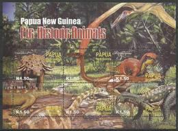 Papua New Guinea 2004 Mi Ark 1051-1056 MNH ( ZS7 PNGark1051-1056 ) - Briefmarken