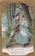 AK Wenn Zwei Sich Lieben - Liebespaar - Poesie - Reliefdruck - Drüggelte 1908  (44193) - Paare