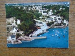 Port-manech , Vue Aérienne , Le Port Et Les Hôtels - Autres Communes