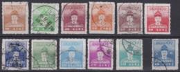 "Taiwan-Rep. China 1950, ""Zheng Chenggong"", Serie (-2 Stamps), Obliterated - 1945-... Repubblica Di Cina"