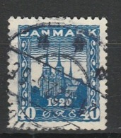 DANEMARK 1920-21 YT N° 126 Obl. - 1913-47 (Christian X)