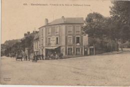 Hardricourt  78   Avenue De La Gare Et Boulevard Carnot Tres Animées_Café-Hotel (Chez Mon Oncle) - Hardricourt