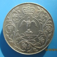 ROYAUME-UNI,  Jubilé D'argent D'Elisabeth II, 25 New Pence 1977, SUP - 1971-… : Monete Decimali