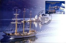 2008 MC, 75th Anniversary Of The Sailing Boat Jadran, Montenegro, MNH - Montenegro