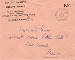 LSC 1970 - Cachet PARIS 25bis LIBRAIRIE - Storia Postale