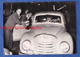 Photo Ancienne - FEZ  ? CASABLANCA ? - Rallye Atlas Oasis - 7 Juin 1957 - Superbe Auto DKW Auto Union Automobile - Automobiles