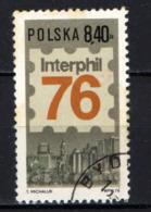 POLONIA - 1976 - Interphil 76, Intl. Phil. Exhib., Philadelphia - USATO - Gebraucht