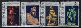 POLONIA - 1971 - Sculptures - USATI - Gebraucht