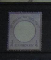 Deutsches Reich 1872, Mi. 1: 1/4 Groschen, 2. Wahl / 2nd Quality - Deutschland