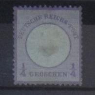 Deutsches Reich 1872, Mi. 16: 1/4 Groschen, 2. Wahl / 2nd Quality - Deutschland
