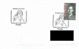 SPAIN. POSTMARK SCOUT AND GUIDE. MADRID 2016 - España