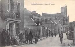 53 - CHANGE : Rue De La Mairie ( Bonne Animation ) - CPA Village ( 6.000 Habitants ) - Mayenne - Altri Comuni