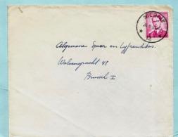 Agence/agentschap WILRIJK 12 26/08/1963 Op VOORZIJDE Met N° 1067 - Marcophilie