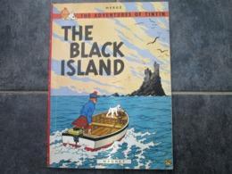 THE BLACK ISLAND - The Aventures Of Tintin - BD Britanniques
