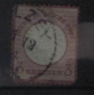 Deutsches Reich 1872, Mi. 25: 3 Kreuzer, 2. Wahl / 2nd Quality - Used Stamps