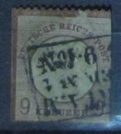 Deutsches Reich 1872, Mi. 27: 9 Kreuzer, 2. Wahl / 2nd Quality - Deutschland
