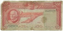 Angola - 500 Escudos - 10.06.1970 - Pick 97 - Série 2 Eju - Américo Tomás - PORTUGAL - Angola