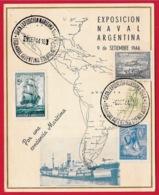 1944 ARGENTINE - Exposicion Naval Argentina - Argentine