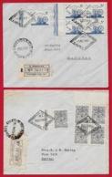 1944 ARGENTINA - Certificados FDC (Lot De 2) Buenos Aires - FDC