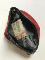 Bérêt Rouge Parachutiste  TAP - Cascos