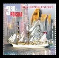Poland 2019 Mih. 5099 The Independence Sail. Tall Ship Dar Mlodziezy MNH ** - Unused Stamps