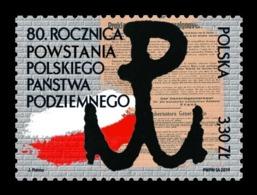 Poland 2019 Mih. 5157 World War II. Polish Underground State MNH ** - Unused Stamps