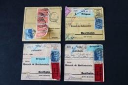 40545) DEUTSCHES REICH 11 Paketkarten INFLA - Deutschland