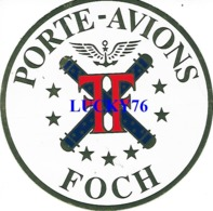 Autocollant Porte Avion Foch - Adesivi