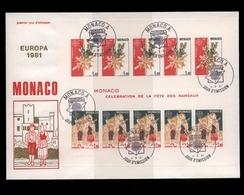 Monaco, Block 17, Ersttagsbrief - Monaco