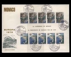 Monaco, Block 12, Ersttagsbrief - Monaco