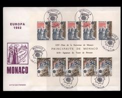 Monaco, Block 19, Ersttagsbrief - Monaco