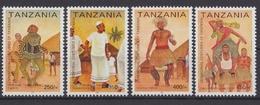 Tansania, Michel Nr. 4058-4061, Postfrisch - Tansania (1964-...)