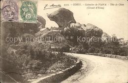 11657305 Piana Calanches De Piana Tete De Chien Rocher Piana - Frankreich