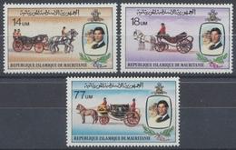 Mauretanien, Michel Nr. 726-728, Postfrisch / MNH - Mauretanien (1960-...)