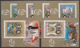 Guinea-Bissau, Michel Nr. 588-593 A Blöcke, Postfrisch / MNH - Guinea-Bissau