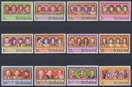 St. Vincent U. D. Grenadinen, Michel Nr. 459-470, Postfrisch / MNH - St.Vincent Y Las Granadinas