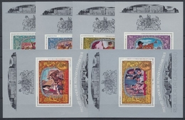 Guinea-Bissau, Michel Nr. Block 69-74 A, Postfrisch / MNH - Guinea-Bissau