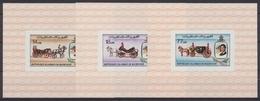 Mauretanien, Michel Nr. 726-728 Blocks, Postfrisch / MNH - Mauretanien (1960-...)