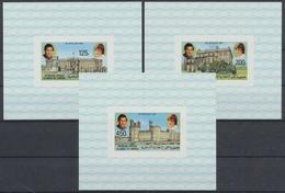 Komoren, Michel Nr. 630-632 Blocks, Postfrisch / MNH - Komoren (1975-...)