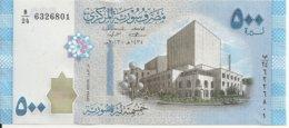 SYRIE 500 POUNDS 2013 UNC P 115 - Siria
