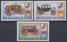 Niger, Michel Nr. 758-760, Postfrisch / MNH - Niger (1960-...)