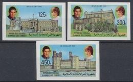 Komoren, Michel Nr. 630-632 B, Postfrisch / MNH - Komoren (1975-...)