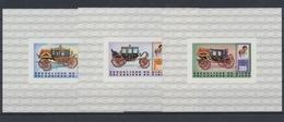 Niger, Michel Nr. 758-760 B Blocks, Postfrisch / MNH - Niger (1960-...)