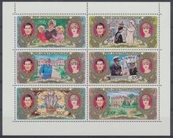 Zentralafrik. Republik, Michel Nr. 758-763 KB, Postfrisch / MNH - Zentralafrik. Republik