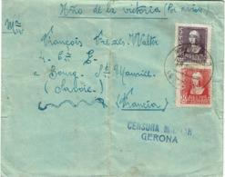 LCTN57/2 - ESPAGNE LETTRE JUIN 1939 CENSURE - 1931-50 Storia Postale