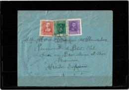 LCTN57/2 - ESPAGNE LETTRE DECEMBRE 1939 CENSURE - 1931-Aujourd'hui: II. République - ....Juan Carlos I