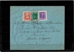LCTN57/2 - ESPAGNE LETTRE DECEMBRE 1939 CENSURE - 1931-50 Storia Postale