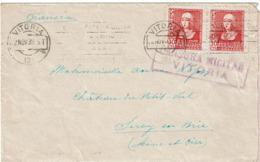 LCTN57/2 - ESPAGNE LETTRE NOVEMBRE 1938 CENSURE - 1931-Aujourd'hui: II. République - ....Juan Carlos I