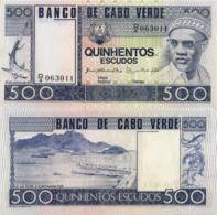 CAPE VERDE 500 ESCUDOS FROM 1977, P55, UNC - Cabo Verde