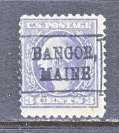 U.S. 529   Perf.  11   (o)  MAINE - Precancels